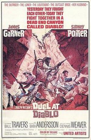 Duel at Diablo - Original film poster by Frank McCarthy