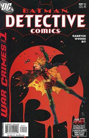 Stephanie Brown (comics) - Image: Detective Comics 809