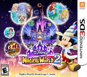 Disney Magical World 2 - North American cover art