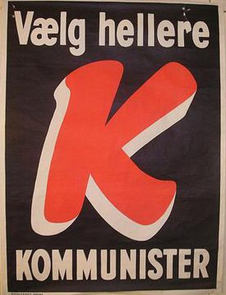 Communist Party of Denmark - Image: Dkpposter