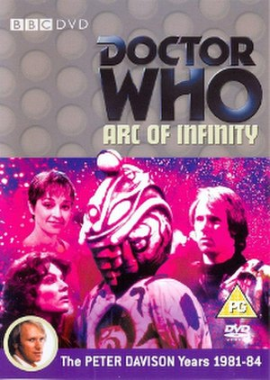 Doctor Who (season 20) - Cover art of the Region 2 DVD release for first serial of the season