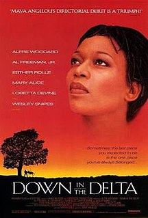<i>Down in the Delta</i> 1998 American drama film by Maya Angelou