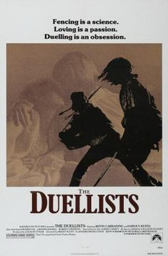 The Duellists - Theatrical release poster