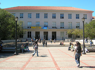 Dwinelle Hall building in Berkeley, California, United States