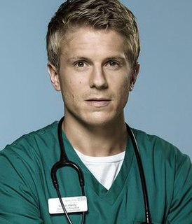 Ethan Hardy Fictional registrar emergency medic in BBC TV medical drama Casualty