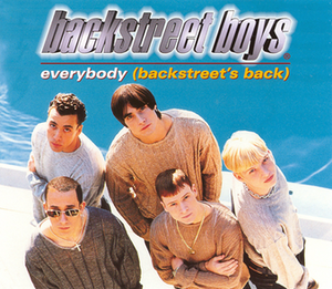 Everybody (Backstreet's Back) - Image: Everybody (Backstreet's Back) (Backstreet Boys single cover art)