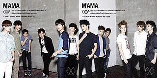 <i>Mama</i> (EP) 2012 EP by Exo-K and Exo-M