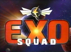The title screen of the first season