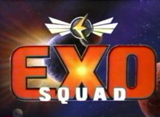 Exosquad - Title screen of the first season