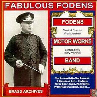 Foden's Band - Fabulous Fodens record sleeve