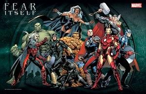 Fear Itself (comics) - Promotional image by Stuart Immonen