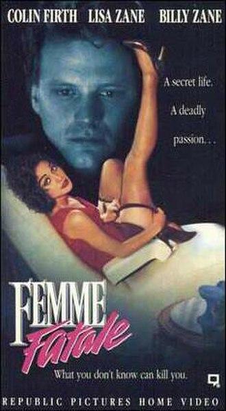 Femme Fatale (1991 film) - Image: Femme Fatale (1991) poster