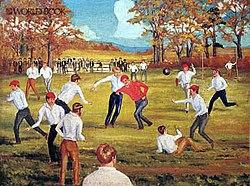 1869 New Jersey Vs Rutgers Football Game Wikipedia