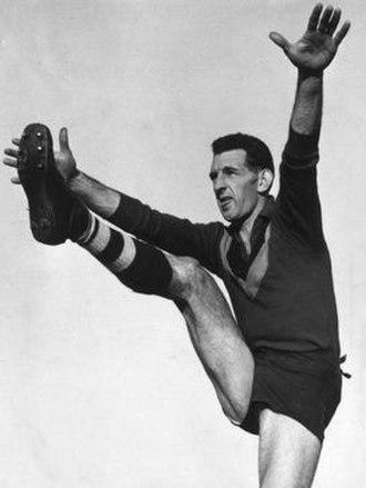 Frank Johnson (footballer, born 1932) - Johnson during his South Melbourne career