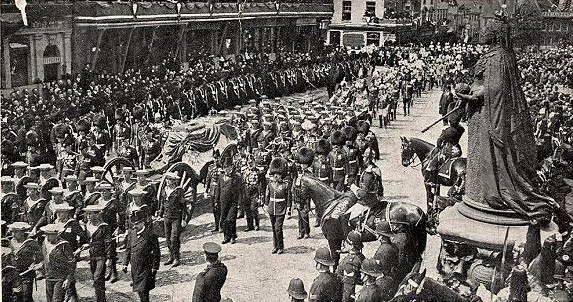 Funeral of Edward VII -1910 -cropped
