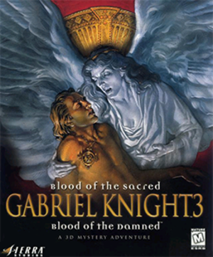 Gabriel Knight 3: Blood of the Sacred, Blood of the Damned - Image: Gabriel Knight 3 Blood of the Sacred, Blood of the Damned Coverart