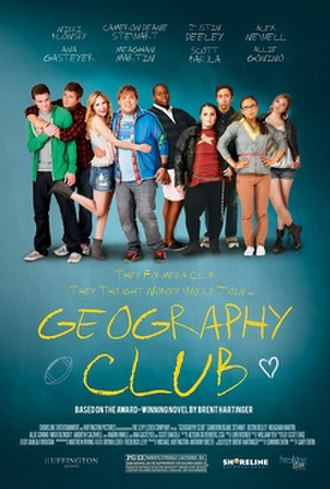 Geography Club (film) - Theatrical release poster