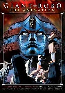 <i>Giant Robo: The Day the Earth Stood Still</i> Japanese OVA series