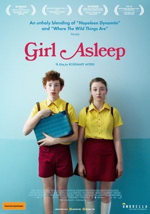 Girl Asleep (film) - Australian release poster