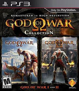 God of War video game collections - Image: God of War Collection Cover