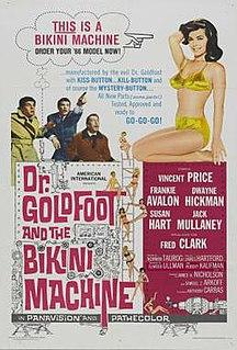 <i>Dr. Goldfoot and the Bikini Machine</i> 1965 film by Norman Taurog