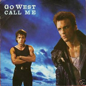 Call Me (Go West song) - Image: Gowest callmesingle
