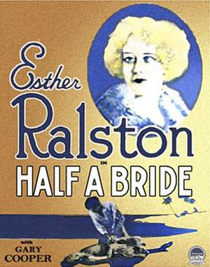 Half a Bride - Theatrical release poster