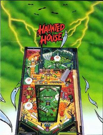 Haunted House (pinball) - Image: Haunted House (pinball)