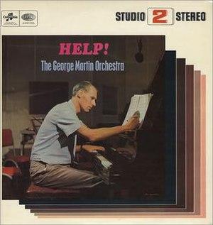 Help! (George Martin album) - Image: Helpgeorgemartin