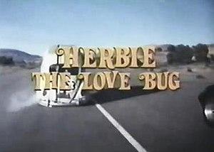 Herbie, the Love Bug - Image: Herbie Love Bug TV1982 titlescreen