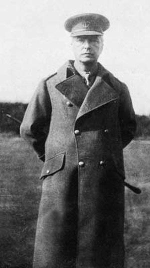 Edward Heron-Allen - Edward Heron-Allen c.1918.