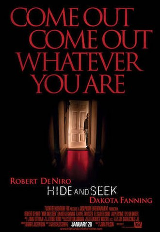 Hide and Seek (2005 film) - Theatrical release poster
