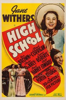 High School (1940 film) poster.jpg