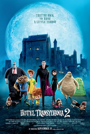 Hotel Transylvania 2 - Theatrical release poster