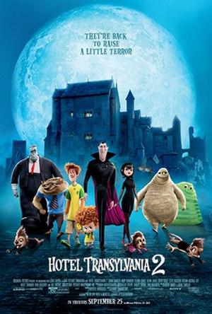 Hotel Transylvania 2 - Theatrical release poster