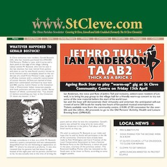 Thick as a Brick 2 - Image: Ian Anderson Thick As A Brick 2