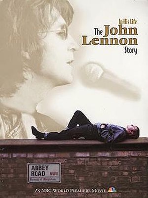In His Life: The John Lennon Story - Cover of a NBC press kit about the film