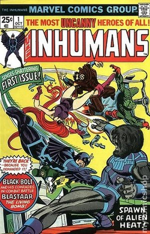 Inhumans - Image: Inhumans vol.1 1 (October 1975)