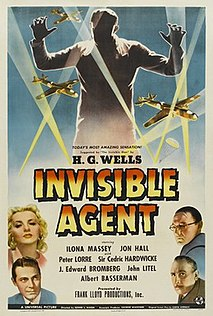 <i>Invisible Agent</i> 1942 American science fiction film directed by Edwin L. Marin