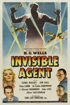 Invisible Agent - theatrical release poster