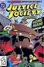 Justice Society of America vol. 2, #1.