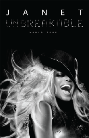 Unbreakable World Tour (Janet Jackson tour) - Promotional poster for the tour