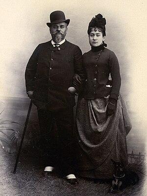 Jean-Vital Jammes - Jean-Vital Jammes and Marie Garcin c. 1887