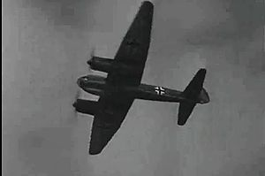 Malta Story - Archival image of a Junkers Ju 88 as shown in a screenshot from Malta Story