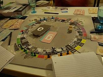 København (board game) - A game of København.
