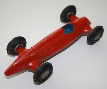 Auto Union Racing on Miniature Of The Auto Union Type A  Long Tail  Racing Car In Red Color