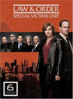 <i>Law & Order: Special Victims Unit</i> (season 6) Season of television series Law & Order: Special Victims Unit