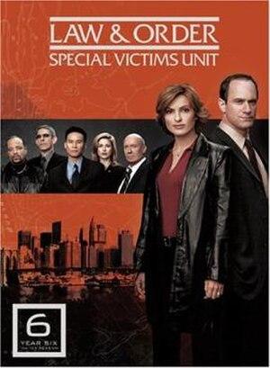 Law & Order: Special Victims Unit (season 6) - Image: L&O SVU season 6 DVD