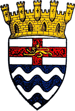 Coat of arms of London County Council - The arms granted to the London County Council in 1914