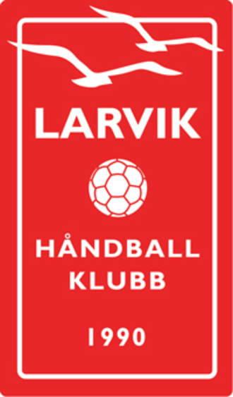 Larvik HK - Image: Larvik HK logo